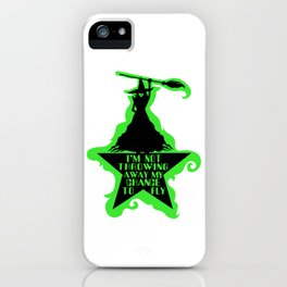 Chance To Fly iPhone Case