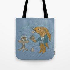 Big Eyed Fish Tote Bag