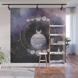 Full Moon Salutation Wall Mural