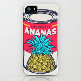 Condensed ananas iPhone Case