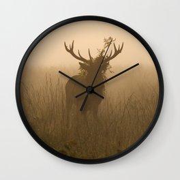 Richmond Park - 03, October 2015 Wall Clock
