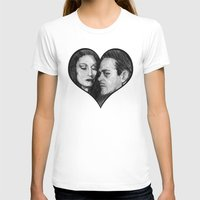 selena gomez T-shirts featuring Morticia and Gomez by Jake Anthony