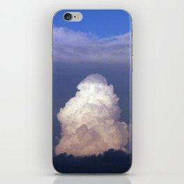 Cloud towers in the Sky -  cumulonimbus iPhone Skin