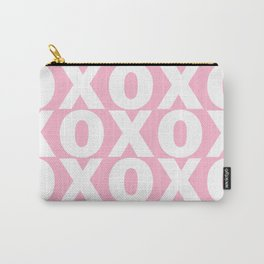 XOXO - Light Pink Pattern Carry-All Pouch