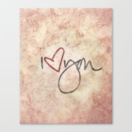 I love you more... every day - 01 (3 piece set) Canvas Print