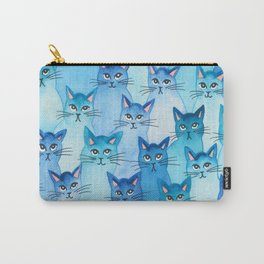 Alaska Whimsical Cats Carry-All Pouch