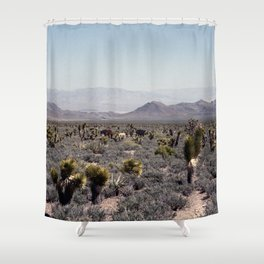 Cold Creek Horses Shower Curtain
