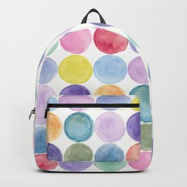dotted and well organized Backpack