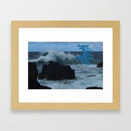 Mesmerizing Ocean Framed Art Print