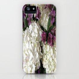 Hydrangea Bouquet iPhone Case