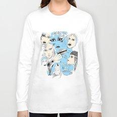 Scribbles  Long Sleeve T-shirt