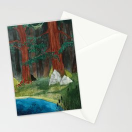 Deep In The Woods Pt. 1 Stationery Cards