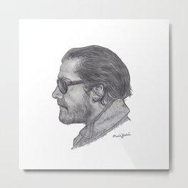 Jake Gyllenhaal Metal Print