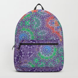 Mandala Night Backpack