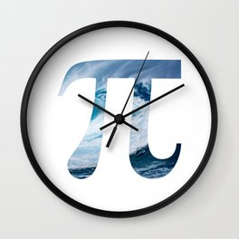 Ocean Pi Wall Clock