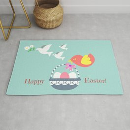 Happy Easter! Rug