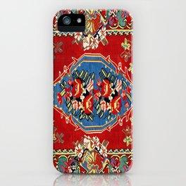 Bijar Silk Kilim  Antique Kurdish Persian Rug iPhone Case