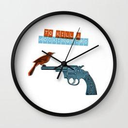 To Kill a mocking bird Wall Clock
