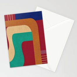 Against the wall Stationery Cards