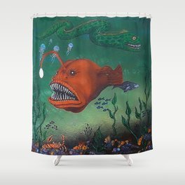 angler Shower Curtain