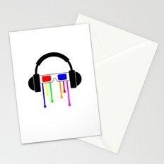 Technicolor tears  Stationery Cards