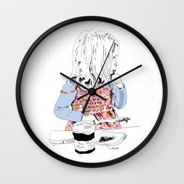 Confiture de Fraise Wall Clock
