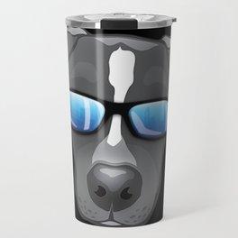 Ocho The Blue Nose Pitty Travel Mug