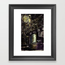 what was that sound? Framed Art Print
