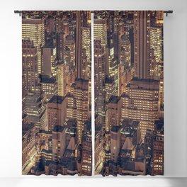 New York City Skyline VII Blackout Curtain