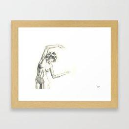 Arc Framed Art Print