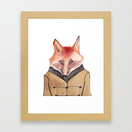 Brer Fox Framed Art Print