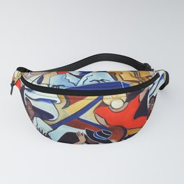 The Blue Piano Fanny Pack