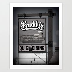 Buddy's Art Print