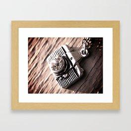 frame and focus Framed Art Print