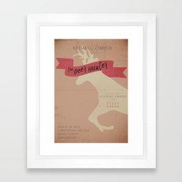 The Deer Hunter - Classic Movie Poster Framed Art Print