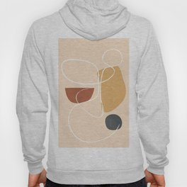 Modern Abstract Shapes 36 Hoody