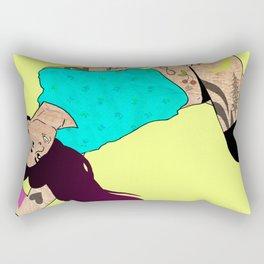 Hair Dye Rectangular Pillow