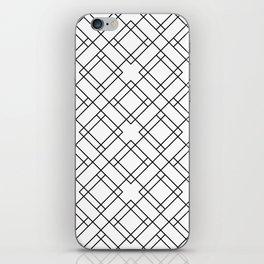 Simply Mod Diamond Black and White iPhone Skin