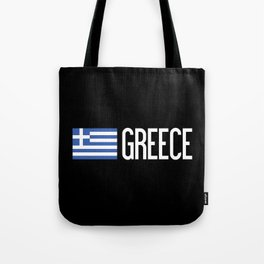 Greece: Greek Flag & Greece Tote Bag