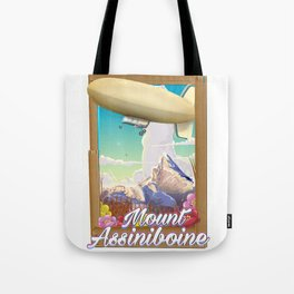 Mount Assiniboine Tote Bag