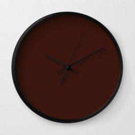 Cello in Repose ~ Mahogany Coordinating Solid Wall Clock