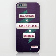 Romans 12:18 iPhone 6s Slim Case