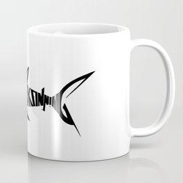 Stop Shark Finning (black) Coffee Mug