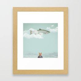 Foxed Framed Art Print