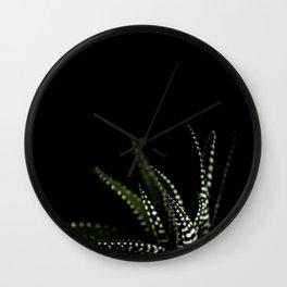 Haworthia Succulent plant cactus Wall Clock