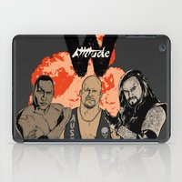 wrestling iPad Cases featuring Attitude Wrestling  by RJ Artworks