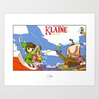 The Legend of Klaine Art Print