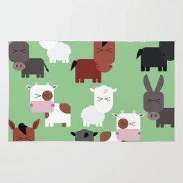 the animal farm Rug