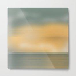 Sea Sky Metal Print