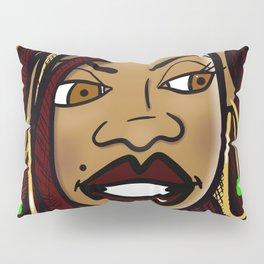 Skeptical Sista Pillow Sham